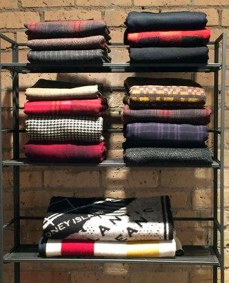 Warm winter wrap skirts